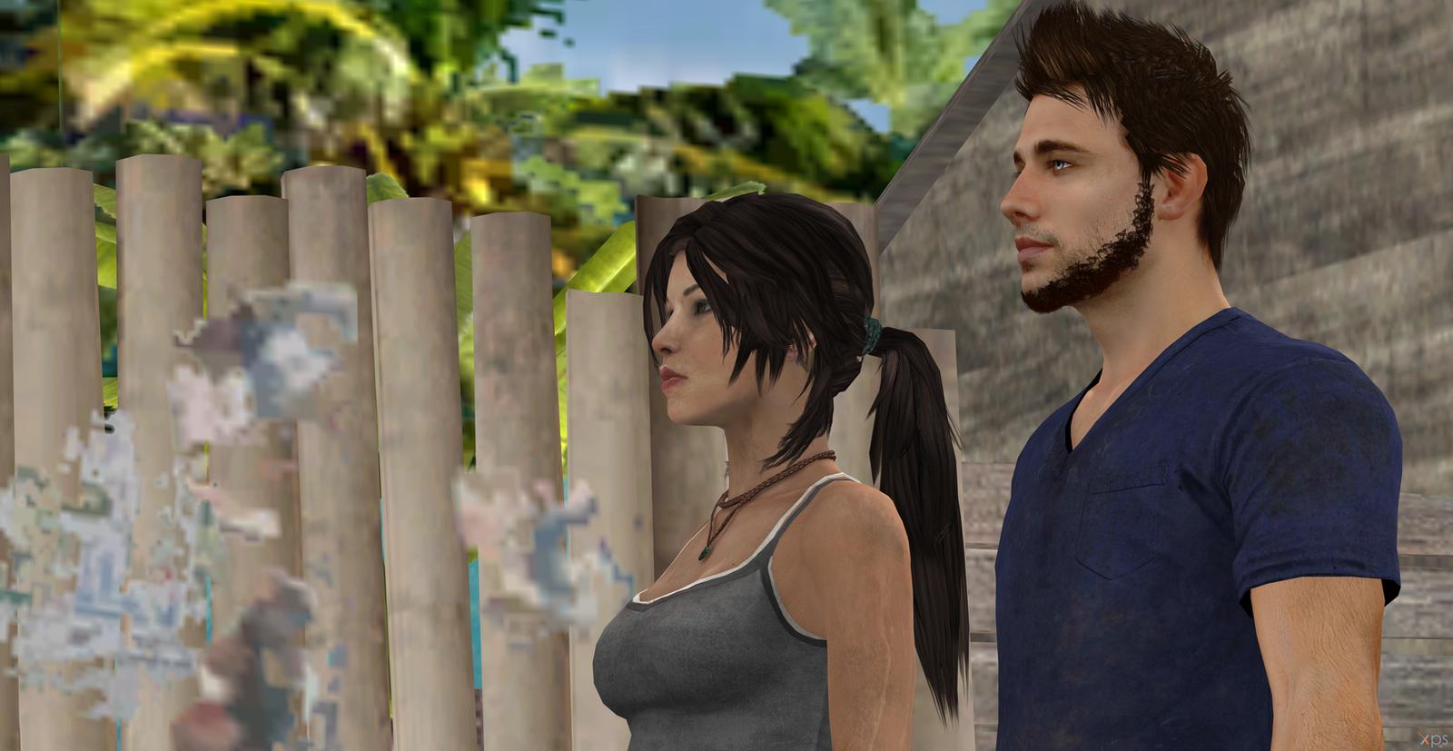 Lara Croft and Jason Brody by Hatredboy