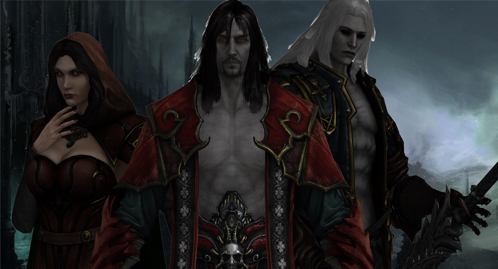 Castlevania Lords Of Shadow 2 Wallpaper By Hatredboy On
