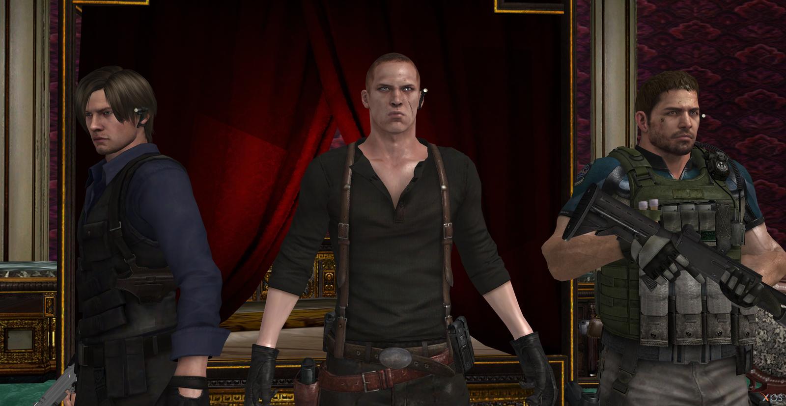 Resident Evil 6 Leon Jake And Chris By Hatredboy On Deviantart