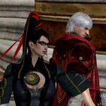 Bayonetta and Dante