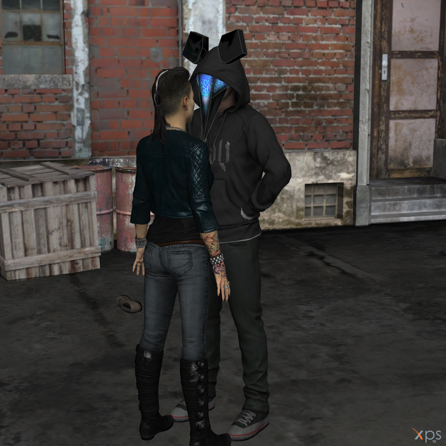 Clara lille and jtg watch dogs just you and me by hatredboy on deviantart - Watch dogs 2 clara ...