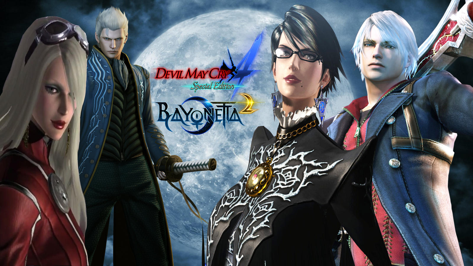 Devil May Cry 4 Se And Bayonetta 2 Wallpaper By Hatredboy On