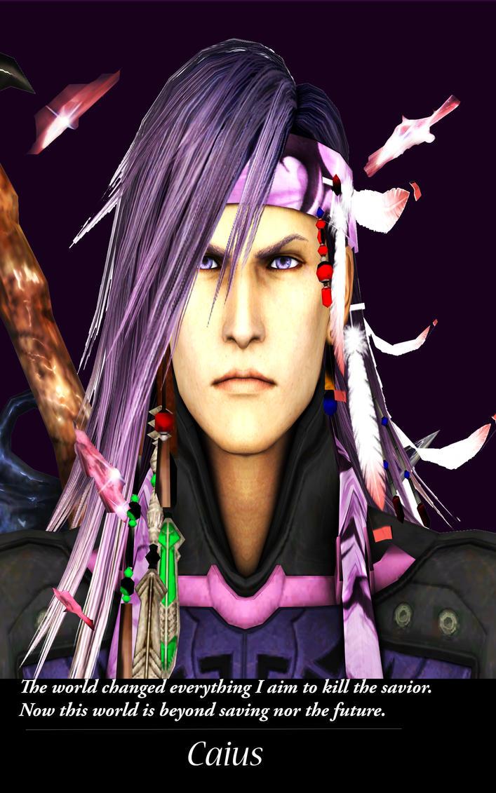 Caius Ballad Final Fantasy Xiii-2 fan-poster by Hatredboy