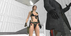Your mission is kill Big Boss,Quiet