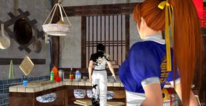 Kasumi encounters Jun Kazama