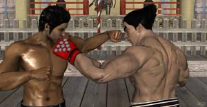 Kiryu vs Kazuya