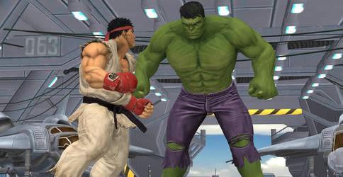 Hulk! Calm your anger!