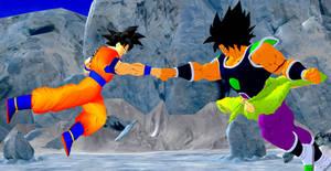 Son Goku vs Broly