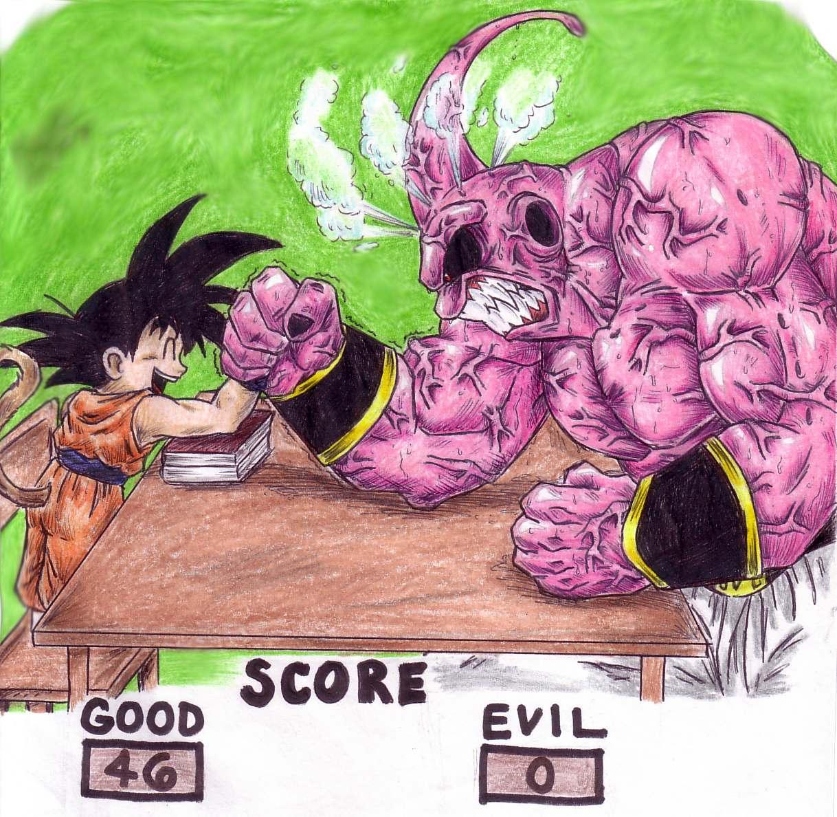 Personajes likewise 375276581433914894 in addition Goku Vs Buu 13666996 also Son Goku Half Ssj4 198449105 likewise Zpics. on goku thumbs up