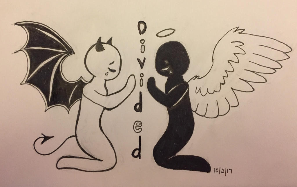 Inktober Day 2: Divided by Panolli