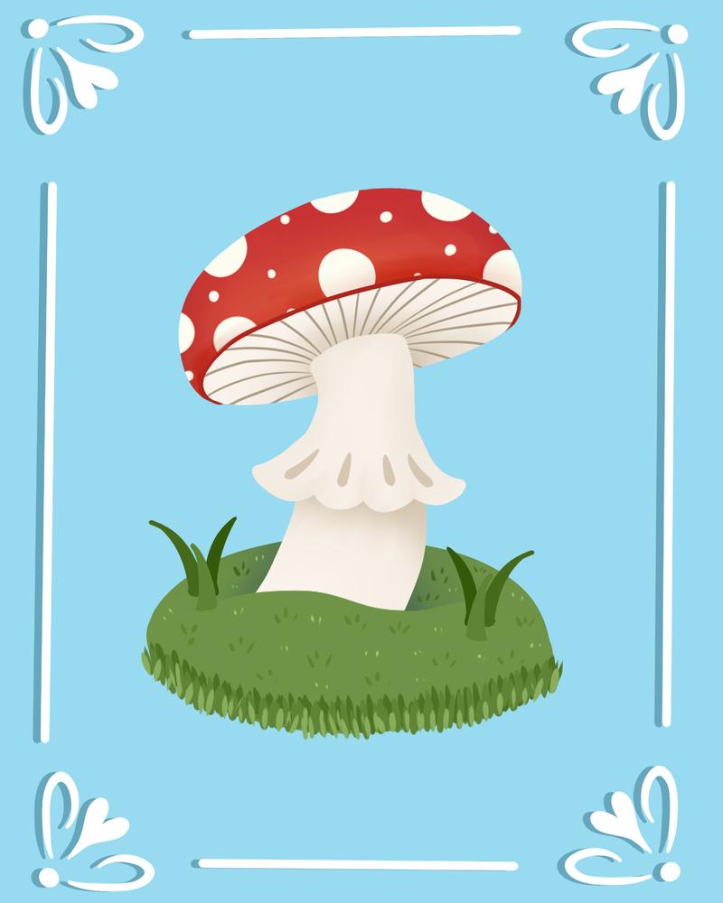 Mushroom by Panolli