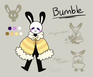 Bumble Ref Sheet - [MYO Mage 2019 (Approved)]