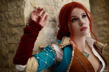 Triss Merigold The Witcher 3 by SailorHasChopstickss