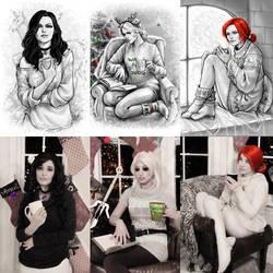 A Very Witcher Christmas by SailorHasChopstickss