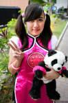 Ling Xiaoyu Cosplay~~ with Panda-chan!