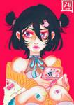Nostalgia + Chill [Rukia Kuchiki] by Mimidorika