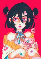 Nostalgia + Chill [Rukia Kuchiki]