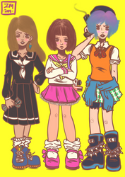 The Sad Trinity [Life is Strange]