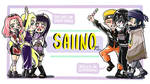 Nice To See You [Sai x Ino] - BANNER by Mimidorika