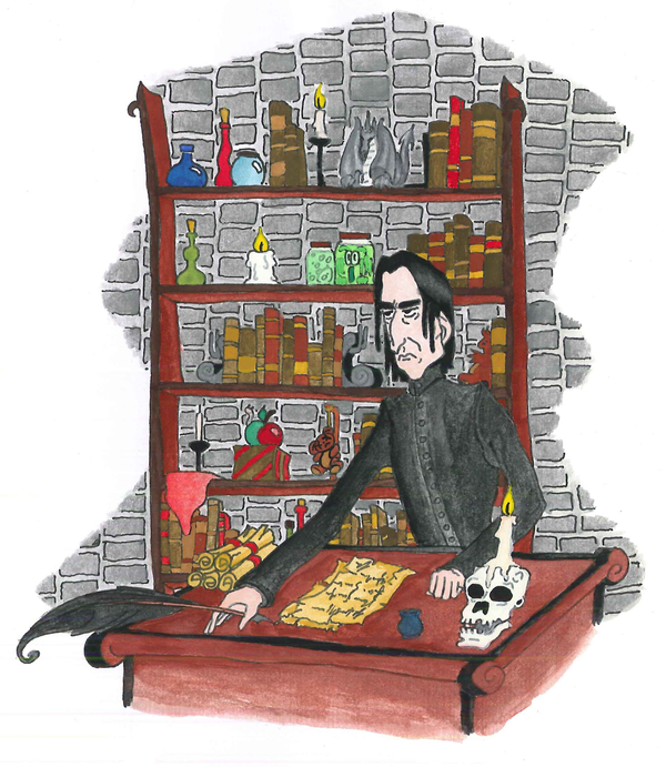 Potions office by RandomMumble