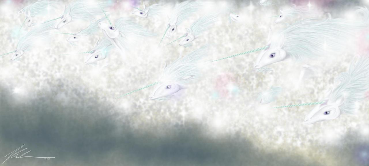 Unicorns' Tide by RandomMumble