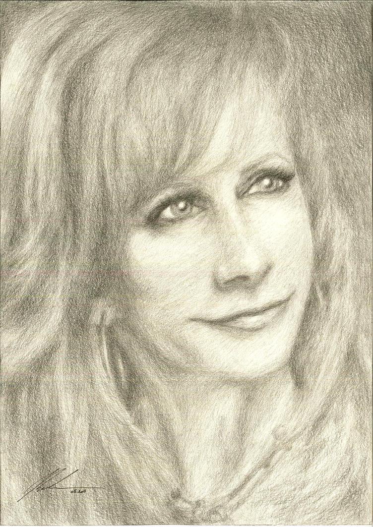 Reba McEntire Portrait by RandomMumble