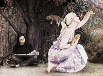 Storytime-FanArt-FondRecollections/Harry Potter by RandomMumble