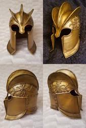 -FOR SALE- King's Guard Helmet GoT by RandomMumble