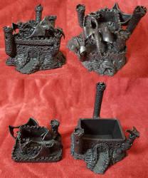 Dragon Castle Statue, Secret Compartment -for Sale by RandomMumble