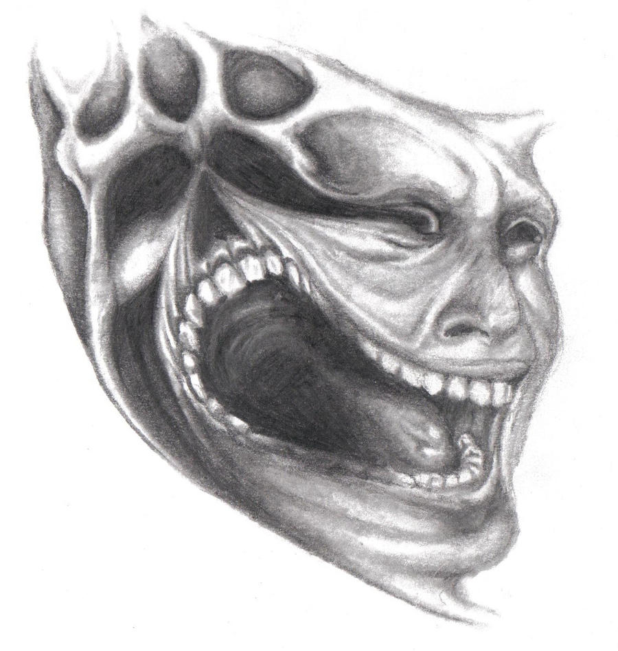 evil skull pencil drawings - Video Search Engine at Search.com