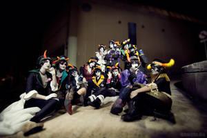 Militarystuck Trolls - HOMESTUCK by Galefic