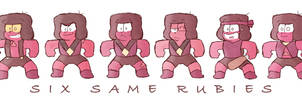 [SU SPOILERS] Six same Rubies by AKHTS