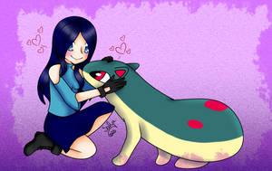 [PKM]Kikyo loves her starter