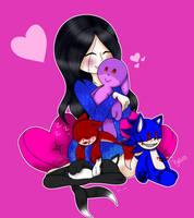 {OC} I love my plushies