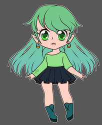 Adoptable Elf Girl [Open]