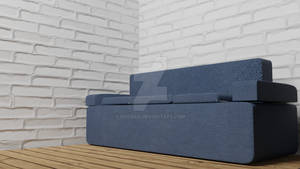My First Attempt at a Sofa :P (Blender 2.79)