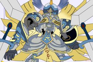 Seraphimon (Re-Draw)