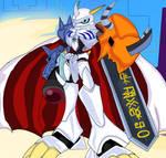 Digimon: Omnimon (Omegamon) Redraw