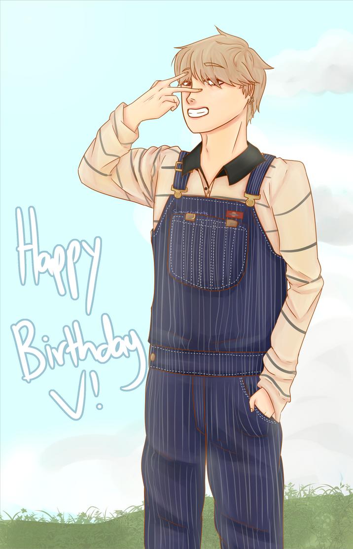 Happy Birthday V! by SummeryMints