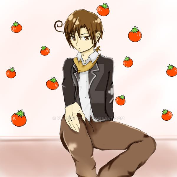 Buonno tomato~ by khanime122
