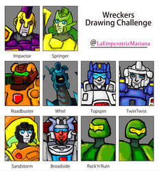 Wreckers Drawing Challenge by LaEmperatrizMariana