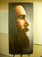 Promoe LTR-Airbrush on Canvas by PrimoOne