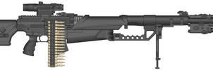 Mk42a1 .50cal Machine Gun