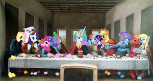 The Last Supper in Ponyville