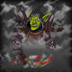 Razbonk the Goblin Rogue