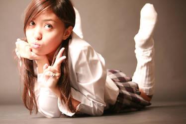Japanese girl by rockangel57