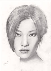 Du Juan Portrait by Jasmine-M-Shaw