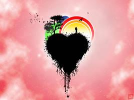 Happy Heart by tarushiru