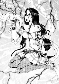 BW : witch