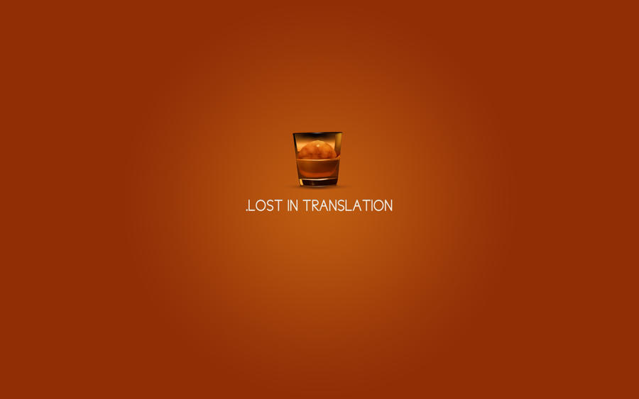Lost in Translation by Couiche